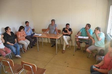 Reunión en Santa Adriana.