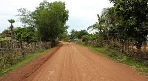 calle sin pavimentar