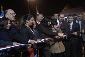 inauguracion plaza mirador villas norte hualañe